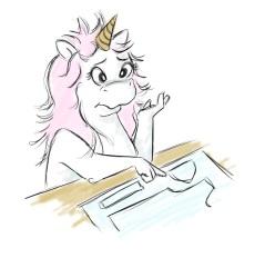 Unicorn Puzzled 1